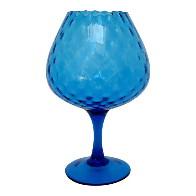 Vintage Italian Goblet Vase For Sale