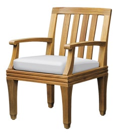 Image of Wood Outdoor Dining Chairs