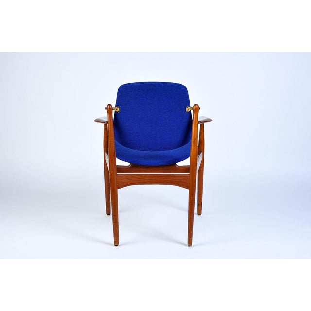 Danish Modern Arne Vodder Arm Chair in the Finn Juhl/Eames Era Mid Century style Rather rare and early Arne Vodder john...