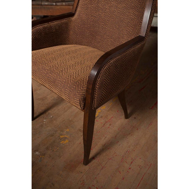 Oak Arm Chair For Sale In New York - Image 6 of 8