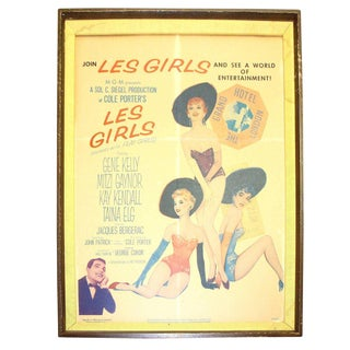 "Original Movie Poster from George Cukor Film: ""Les Girls"" 1957. By Famous Artist, Alberto VARGAS For Sale"