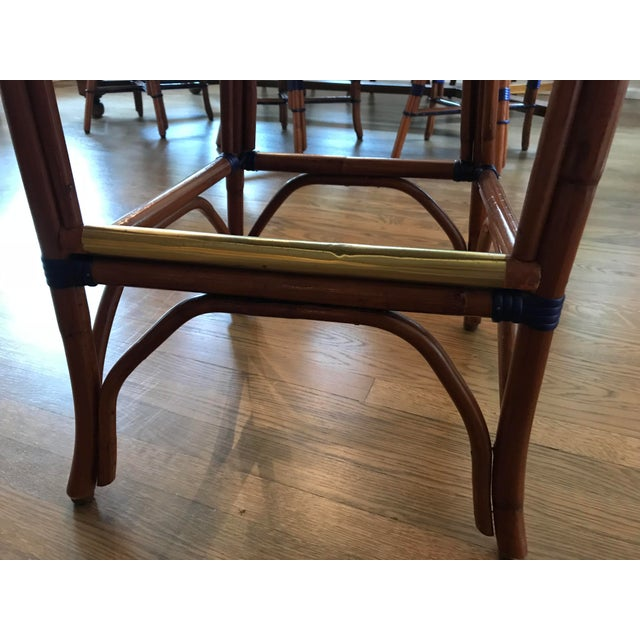 2000s Howard Kaplan Bistro Counter Stools - Set of 3 For Sale - Image 5 of 8