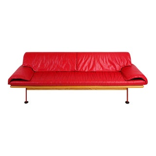 Burkhard Vogtherr for Brayton International Leather Sofa, 1984