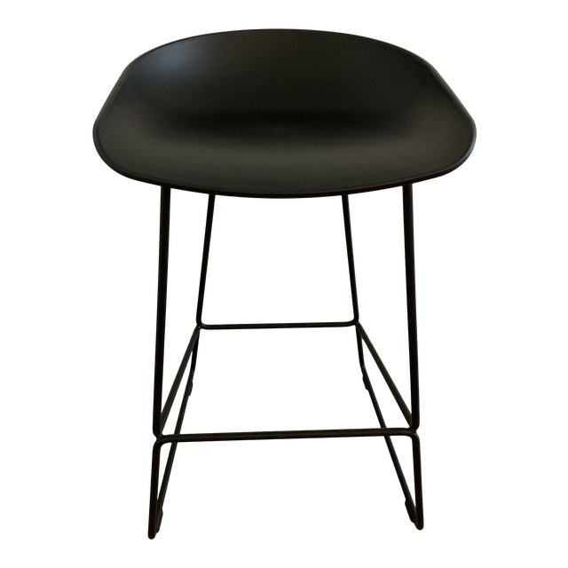 Hee Welling for Hay Black Danish Counter Stool For Sale