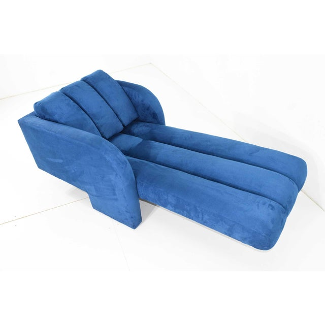 Textile 1970s Vladimir Kagan Deco Chaise For Sale - Image 7 of 12