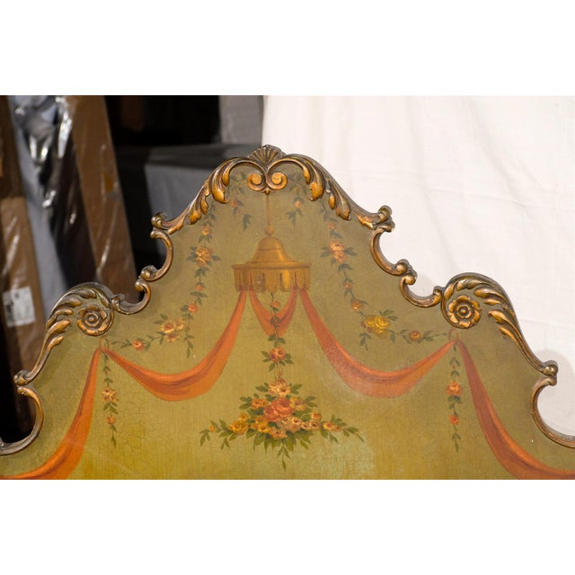 Mediterranean 19th Century Venetian Style Twin Beds - a Pair For Sale - Image 3 of 13