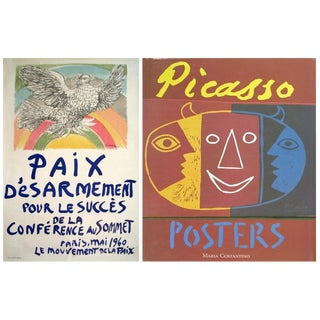 Bundle- 2 Assorted Pablo Picasso Lithograph & Reference Book