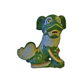 1960s Large Ceramic Foo Dog For Sale