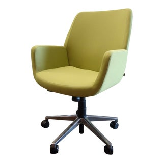 Coalesse and Steelcase Brian Kane Modern Bindu Green Executive Conference Chair For Sale