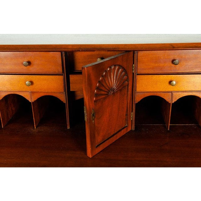 Early 19th Century Mahogany Wood Drop-Front Writing Desk For Sale In New York - Image 6 of 9