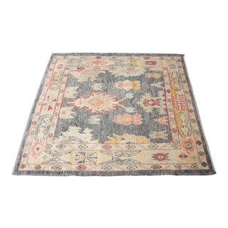 'Elvire' Turkish Oushak Rug For Sale