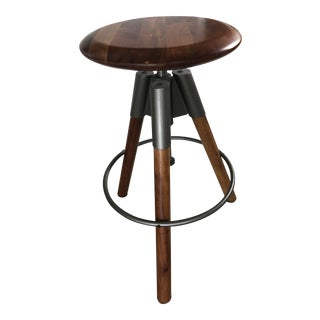 CB2 Revolution Adjustable Barstool For Sale