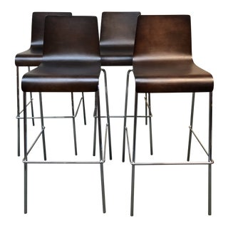 Blu Dot Bar Stool, Set of Four For Sale