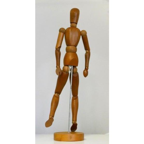 Vintage Wooden Artist Mannequin For Sale - Image 4 of 10