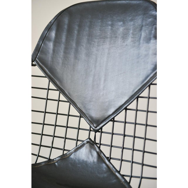 Eames Dkx-2 Vintage Wire Chair With Leather Bikini Cover | Chairish
