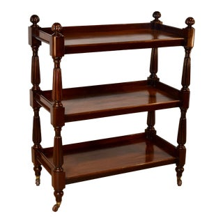 19th Century Mahogany Trolley Dumbwaiter For Sale