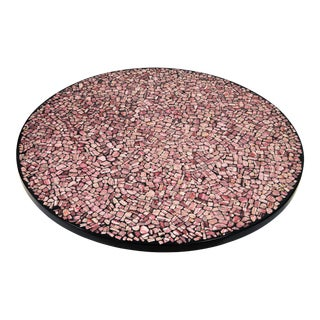 Pink Rhodochrosite Coffee Table by Etienne Allemeersch, Circa 1975 For Sale