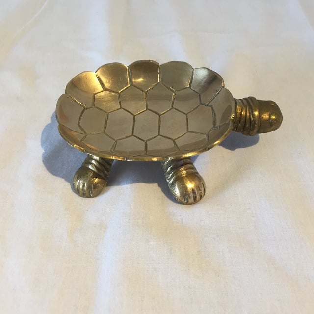 Brass Turtle Soap Dish - Image 3 of 5