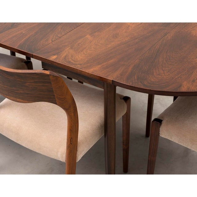 Niels Moller Extending Dining Table in Rosewood, Denmark 1950s For Sale - Image 10 of 12