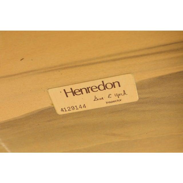 1970s Vintage Henredon Burled Olive Wood Dining Table For Sale - Image 10 of 11