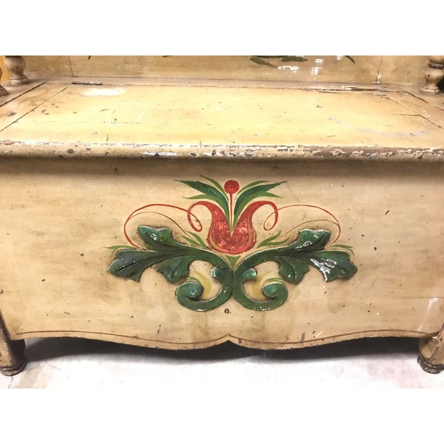 Mid 19th Century Children's Bo Peep Bench For Sale - Image 4 of 6
