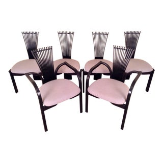 Torstein Nilsen for Westnofa Dining Chairs, Set Six For Sale