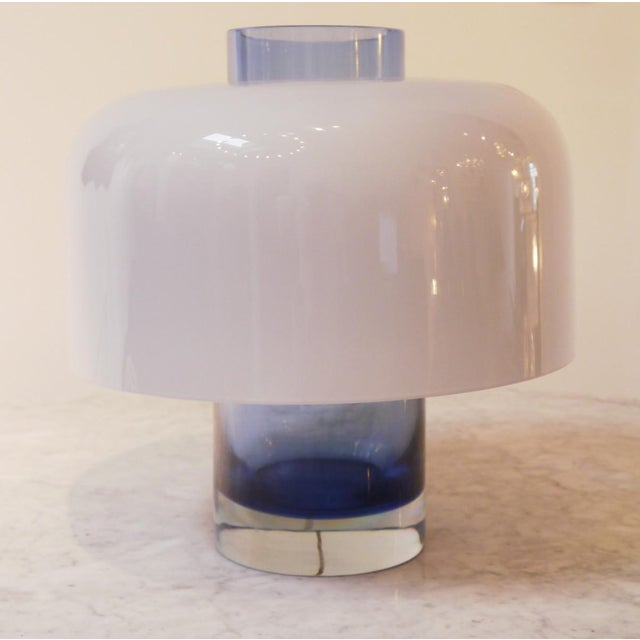 Italian Table Lamp Model Lt 226 by Carlo Nason for Mazzega For Sale - Image 3 of 6