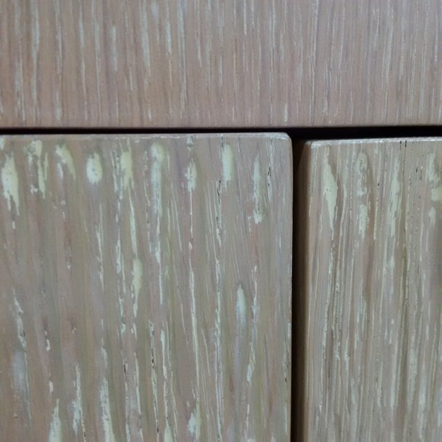Modern Custom Oak Finish Buffet - Image 6 of 7