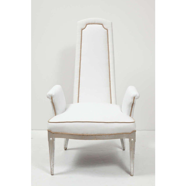 Pair of High Back Armchairs - Image 9 of 9
