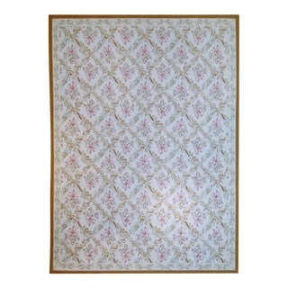 """Pasargad Aubusson Hand Woven Wool Rug - 8'11"""" X 12' 4"""""""