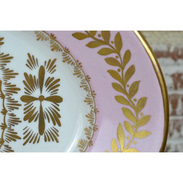 Porcelain Transfer Portrait Platter For Sale - Image 5 of 7