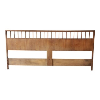 Milo Baughman for Arch Gordon Mid-Century Modern King Size Headboard
