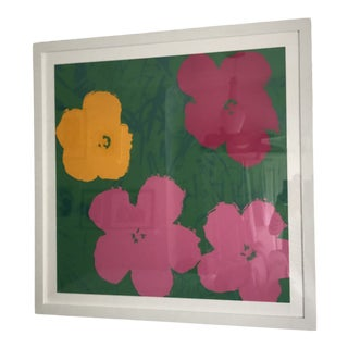Andy Warhol Framed Reproduction Print For Sale