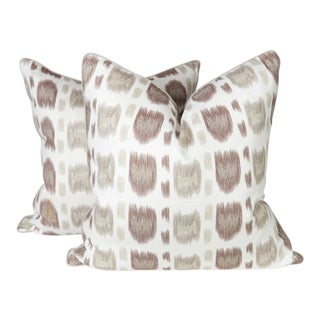 Alan Campbell Linen Cintra Pillows - A Pair