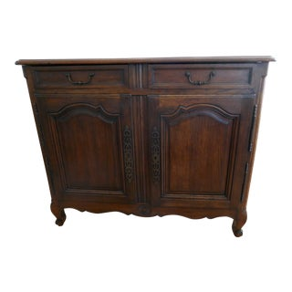 1930s French Style Oak Sideboard For Sale