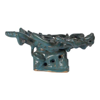 1960s Vintage Abstract Ceramic Sculpture For Sale