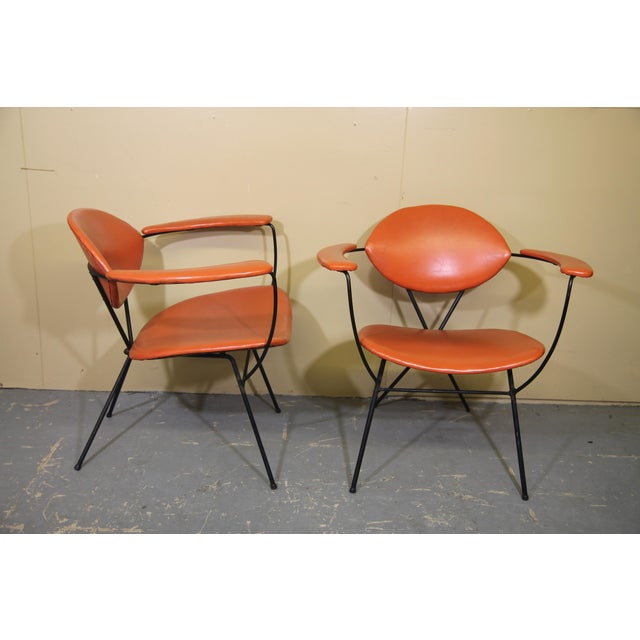 Mid-Century Modern Joseph Cicchelli for Reilly-Wolff Lounge Chairs - a Pair For Sale - Image 3 of 8