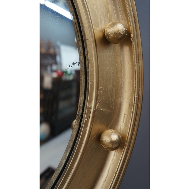 Federal Style Convex Mirror For Sale - Image 4 of 5