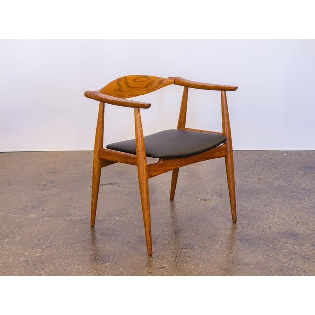 Set of Four Wegner CH-35 Armchairs - Image 6 of 11