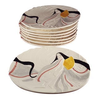 Sigma the Taste Seller Kabuki Dinner Plates - Set of 8