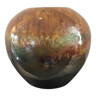 Glazed Porcelain Vase