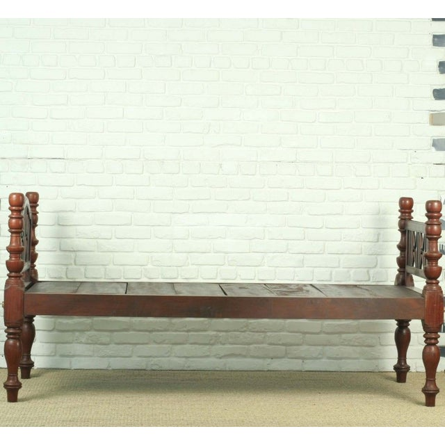 Antique Indian Daybed or Twin Bed - Image 3 of 3
