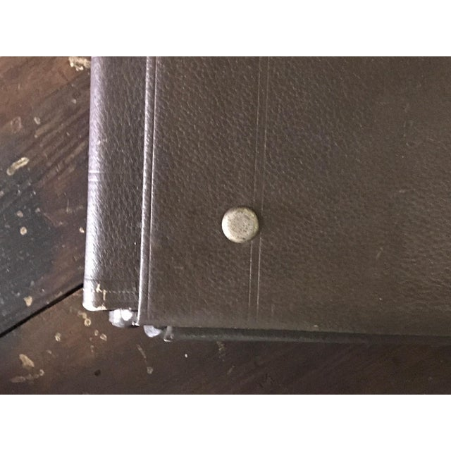 French 1900s French Factory Portfolios in Leather - Set of 5 For Sale - Image 3 of 5