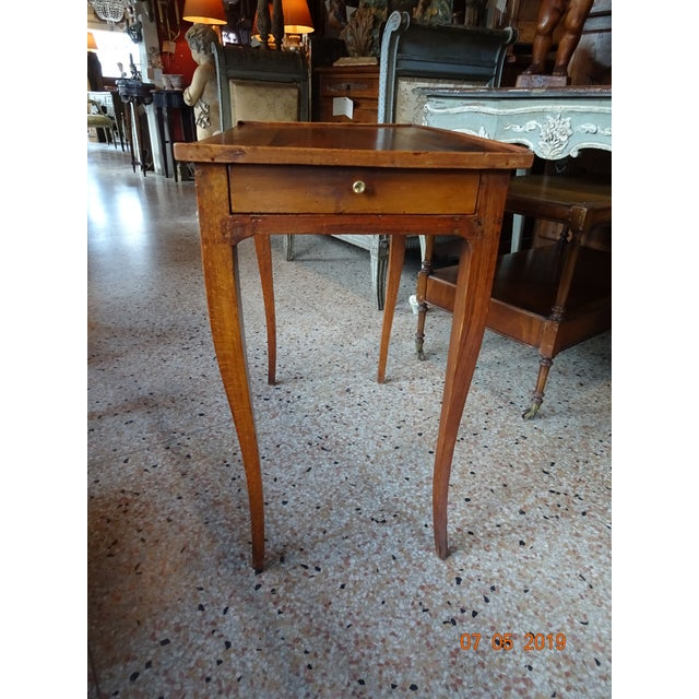 Brown French 19th Century Side Table For Sale - Image 8 of 12