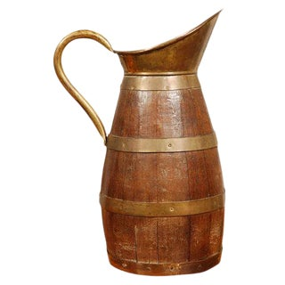 Large Antique French Jug or Flagon