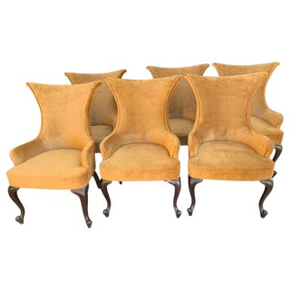 Randall Tysinger for Ej Victor Armchairs - Set of 6 For Sale