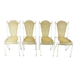 Arturo Pani Attributed Chairs - Set of 4 For Sale
