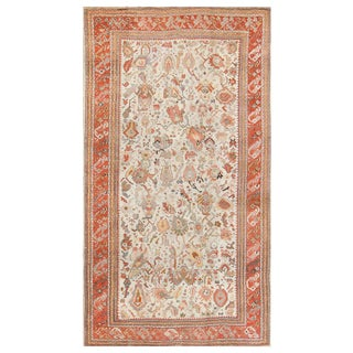 Antique Ghiordes Turkish Carpet For Sale