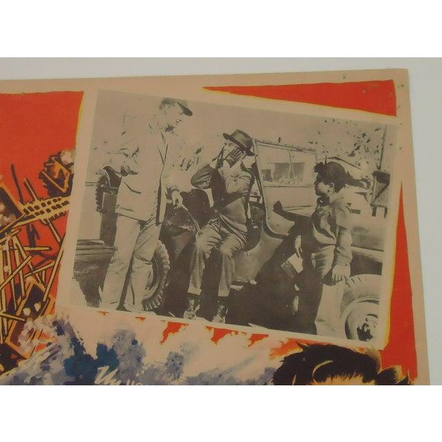 Vintage Movie Poster, John Wayne Tycoon Railroad - Image 4 of 6