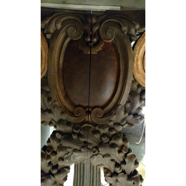 Hand Carved Italian 18th Century Mirrors - Pair For Sale - Image 7 of 9